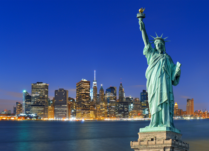 新天地の象徴-自由の女神像について