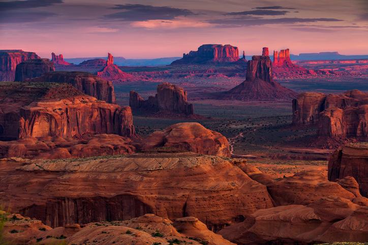 広大なアメリカ アメリカの地形と自然